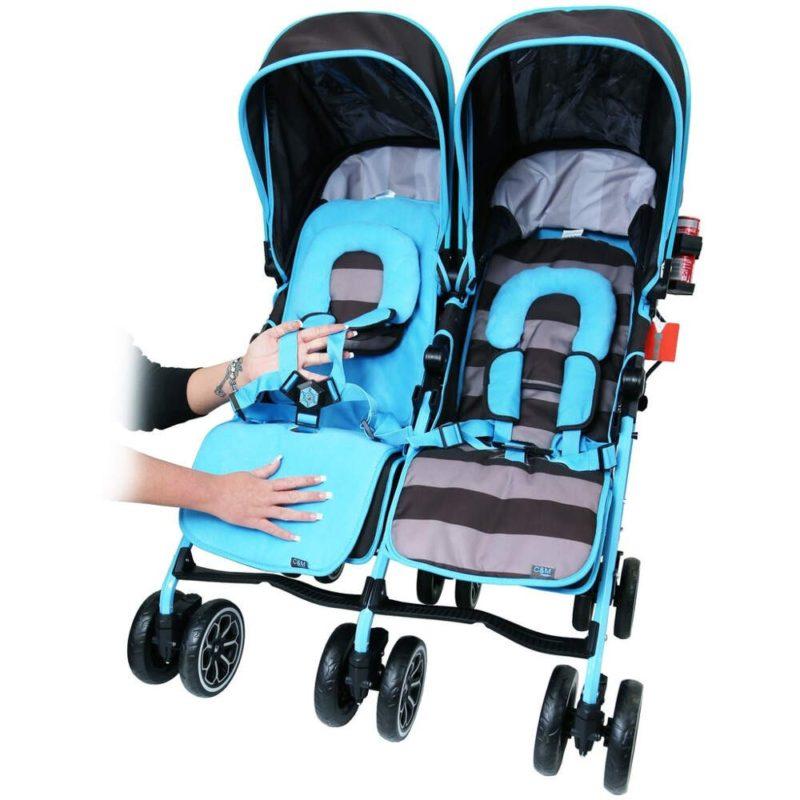 OPTIMUM Twin Stroller - iDiD iT