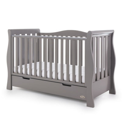 Obaby Stamford Luxe 5 Piece Room Set - Taupe Grey 2