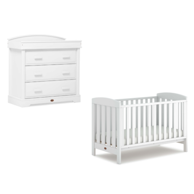 Boori Alice 2 Piece with 3-Drawer Dresser - Barley White