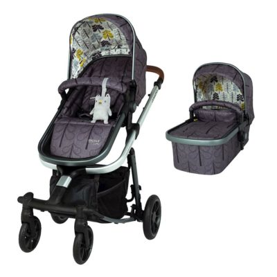 Cosatto Fika Forest Giggle Quad Pram and Pushchair