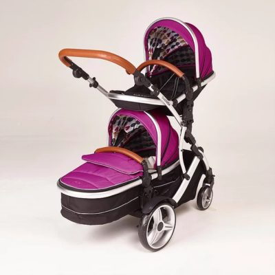 Kids Kargo Duellette BS Combi - Raspberry