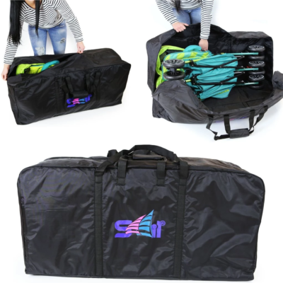 i-Safe Large Twin Pram Travel Bag