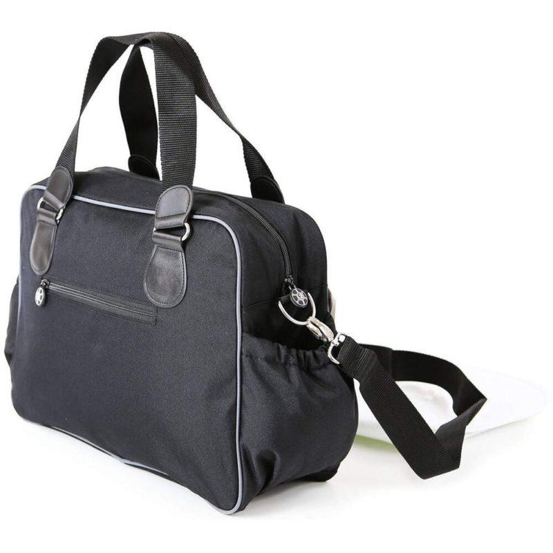 i-Safe Luxury Changing Bag - Black