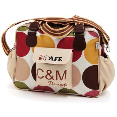 i-Safe Luxury Changing Bag - C&M