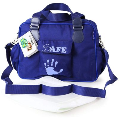 i-Safe Luxury Changing Bag - Navy