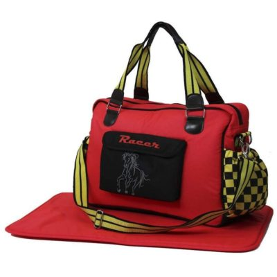 i-Safe Luxury Changing Bag - Racer