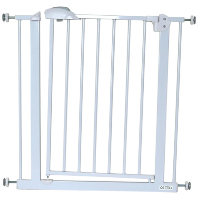 iSafe Auto-Close Stairgate - White