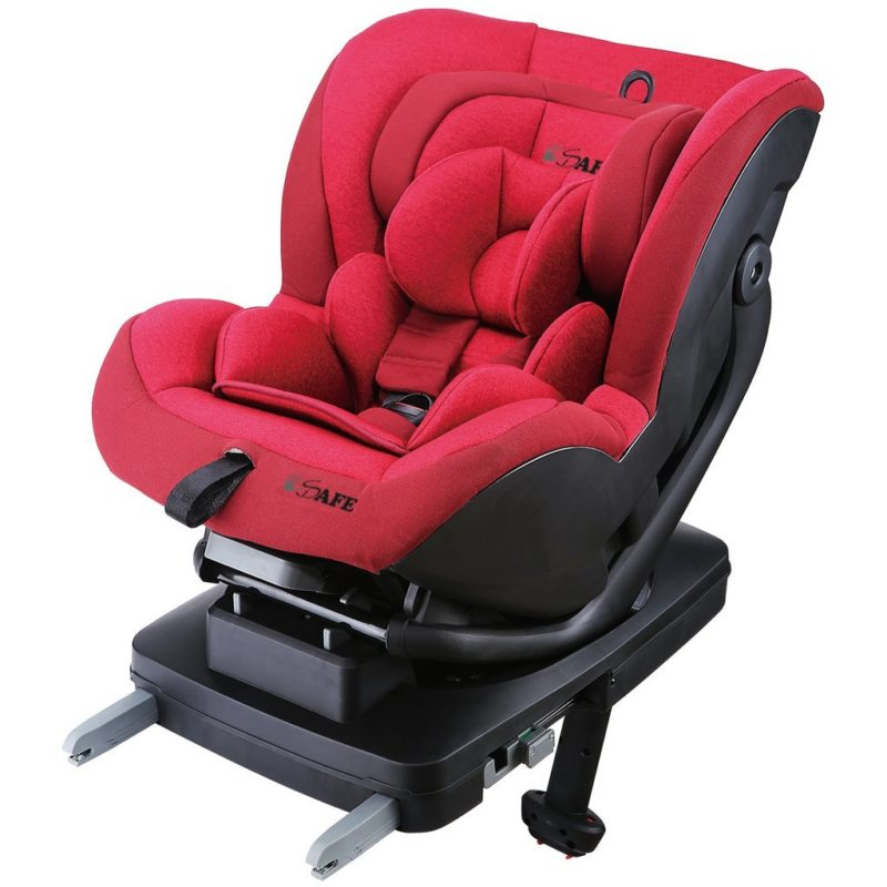 iSafe Car Seat Aurora Group 0+1- Rossa