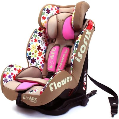 iSafe Car Seat Group 1-2-3 Flowers