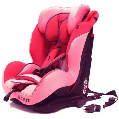 iSafe Car Seat Group 1-2-3 Pink