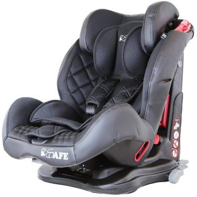 iSafe Car Seat Group 1-2-3 Raven Black