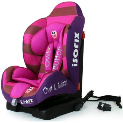 iSafe Car Seat Group 1 - Owl & Button