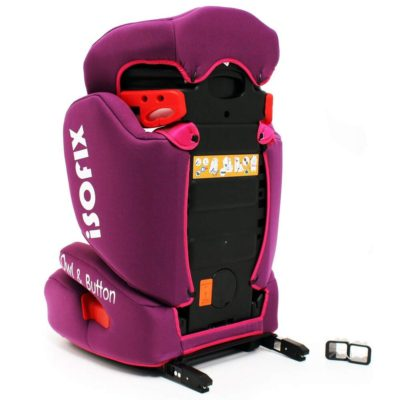 iSafe Car Seat Group 2-3 Owl & Button