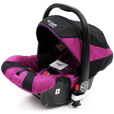 iSafe Car Seat Pram System Compatible Group 0+ Plum
