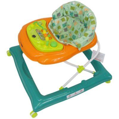 iSafe Play Time PLUS Baby Walker - GreenOrange