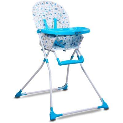 iSafe YummyLuv Highchair - Blue Circles