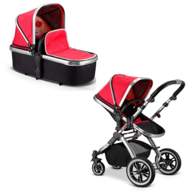 iSafe iVogue Pushchair & Carrycot (Apple)