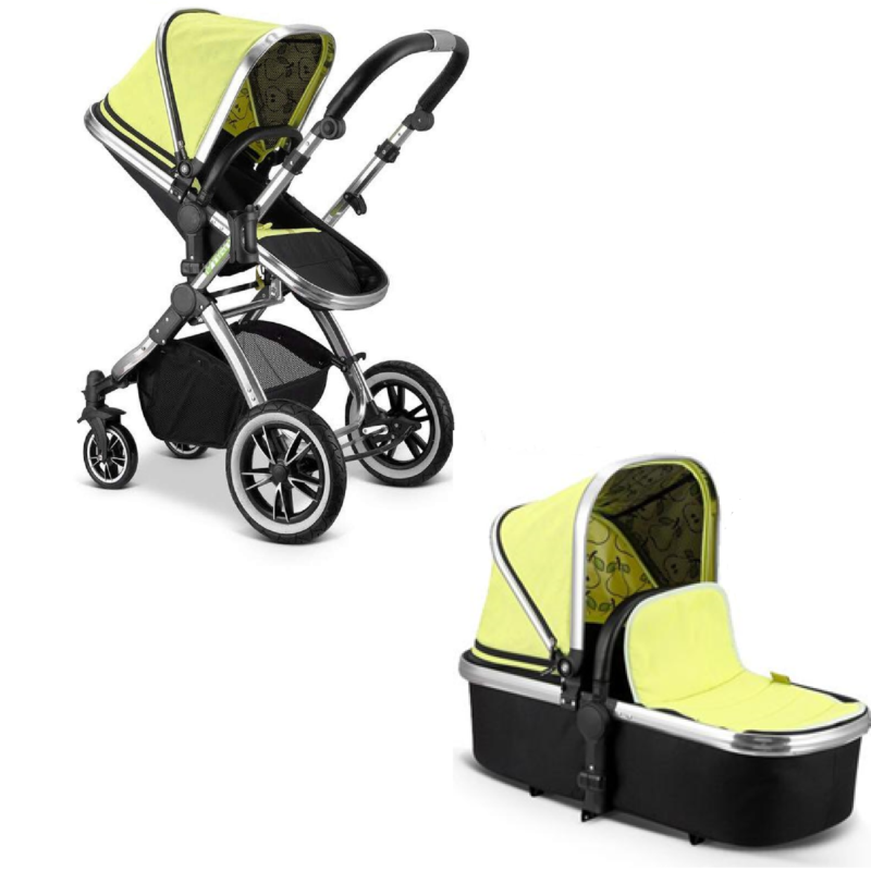 iSafe iVogue Pushchair & Carrycot Pear