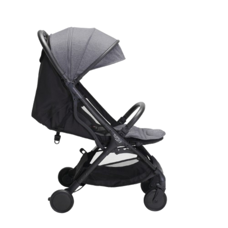 Tutti Bambini Momi Stroller - Black/Charcoal