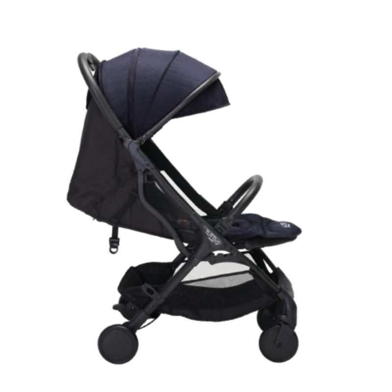 Tutti Bambini Momi Stroller - Black/Liquorice