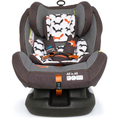 All in All Group 0+123 Car Seat Mister Fox