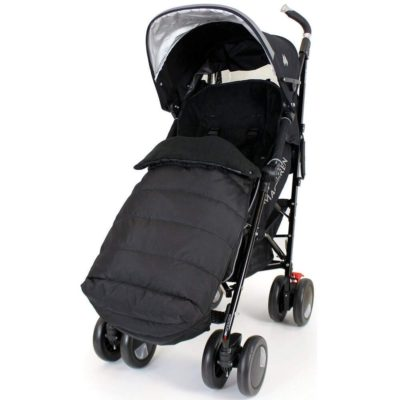 Baby Travel Footmuff Large-Black