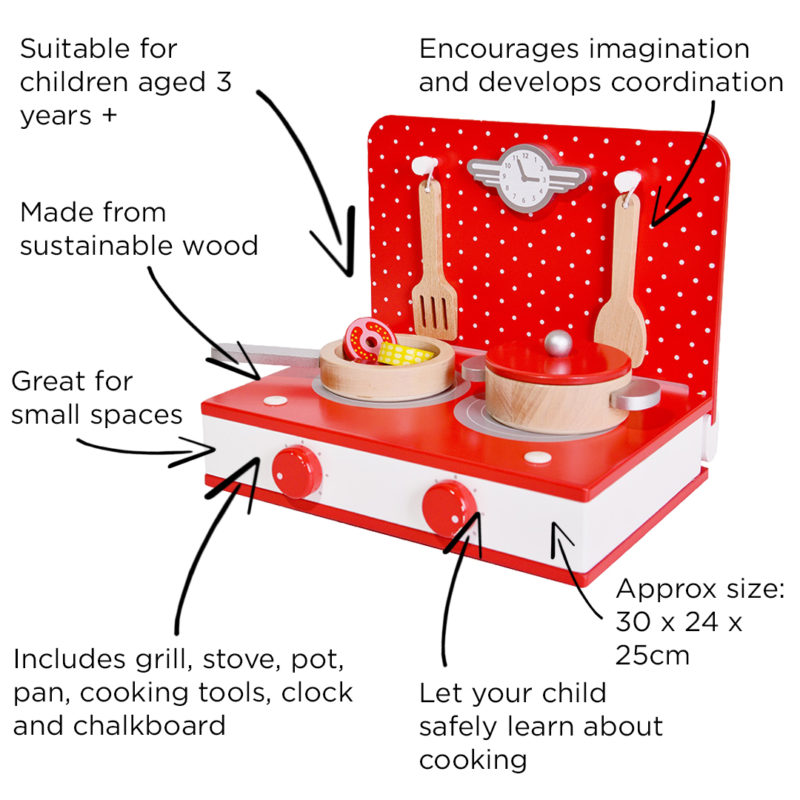 Classic World Retro Tabletop Kitchen and Grill1