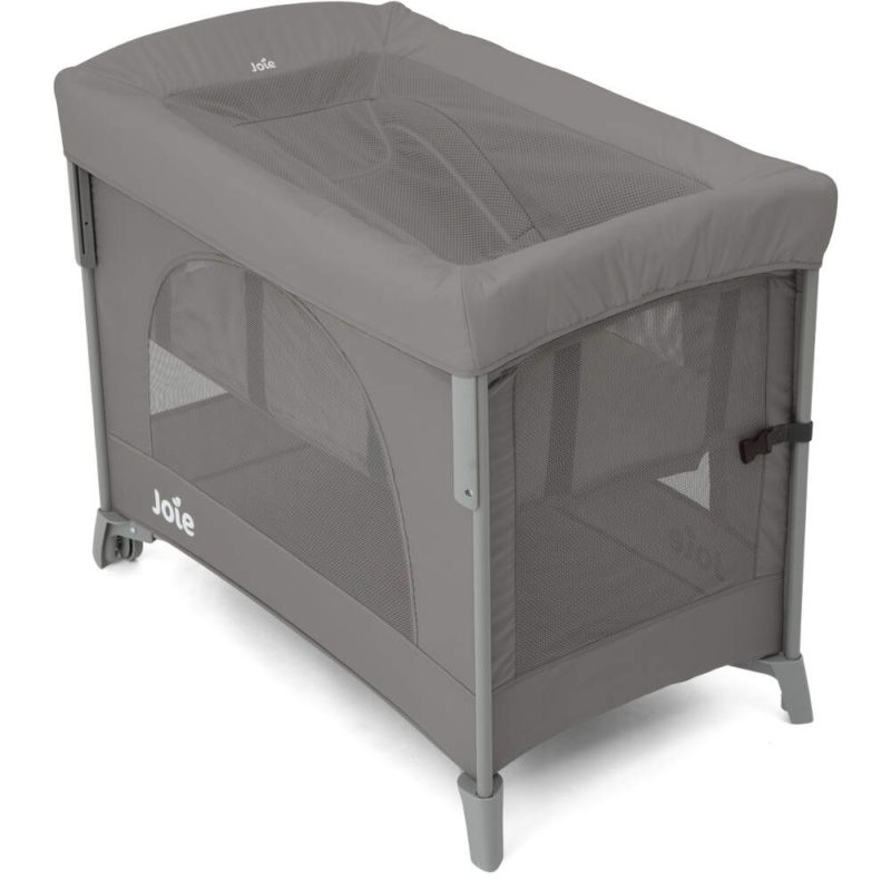 Joie Travel Cot Daydreamer Cover-Foggy Grey