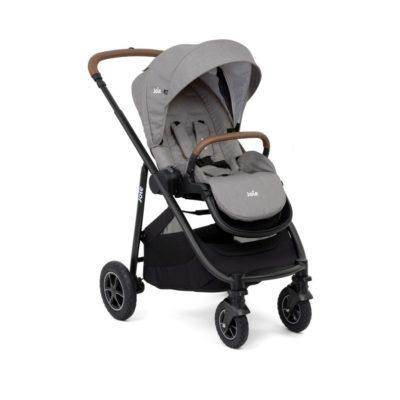 Joie Versatrax Stroller-Grey Flannel
