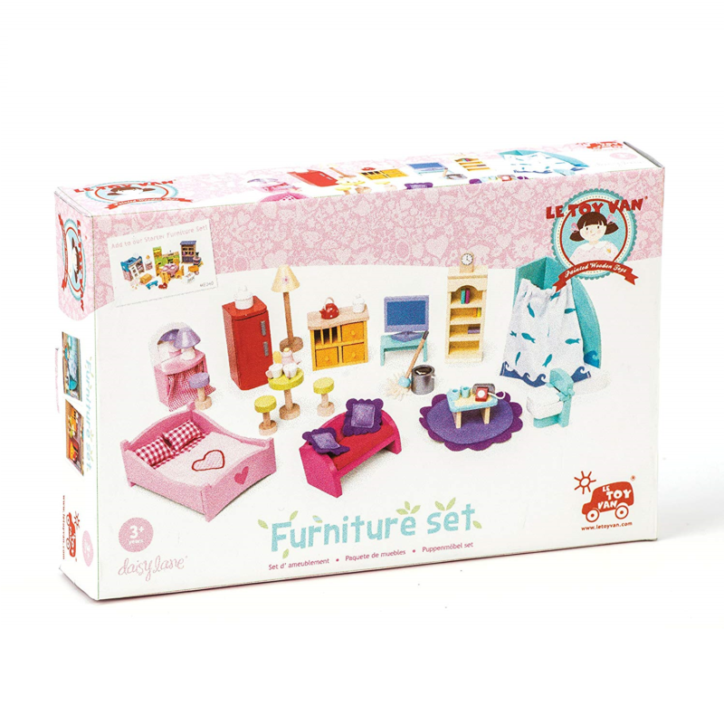 Le Toy Van Deluxe Dolls House Furniture Set 2