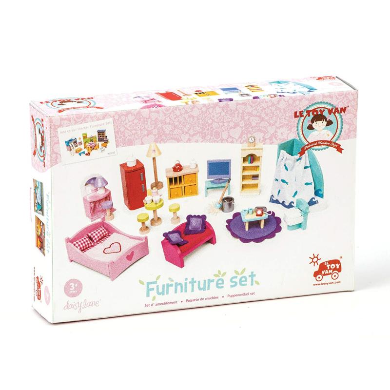 Le Toy Van Deluxe Dolls House Furniture Set 2