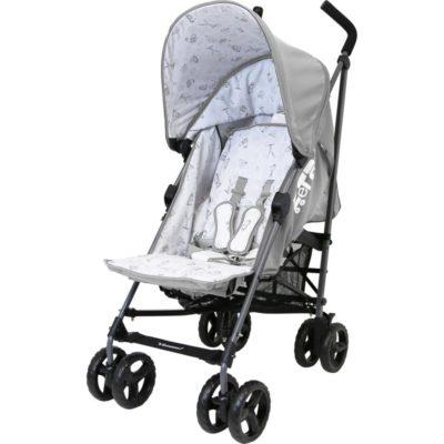 ZeTa Vooom TWILIGHT Stroller-Grey