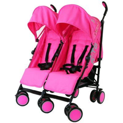 Zeta CiTi Twin Stroller - Pink