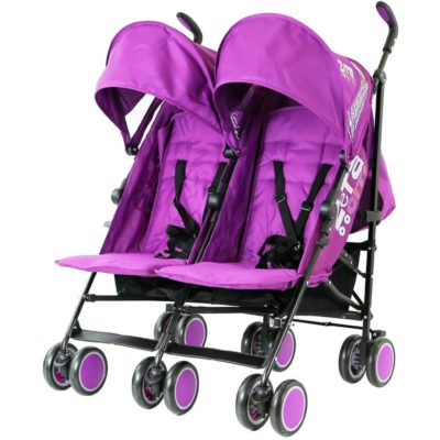 Zeta CiTi Twin Stroller - Purple