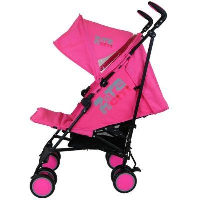Zeta City Stroller-Pink