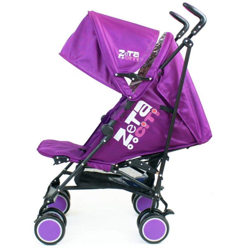 Zeta City Stroller- Purple