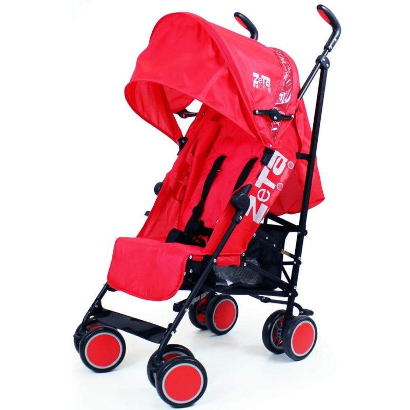 Zeta City Stroller- Red