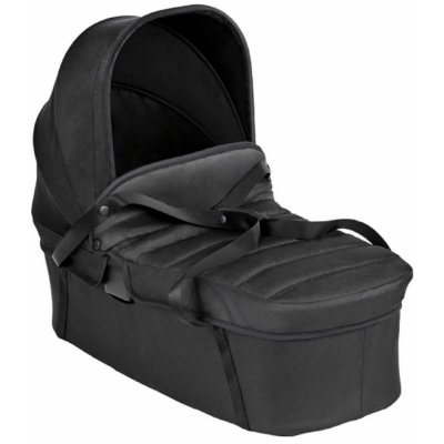 Baby Jogger City Tour 2 Pitch Black Double Stroller Carrycot