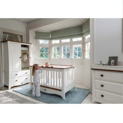 Boori Provence Convertible Plus™ Cot Bed in Cream & Pecan
