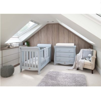 Boori Sleigh Expandable™ Cot Bed - Pebble
