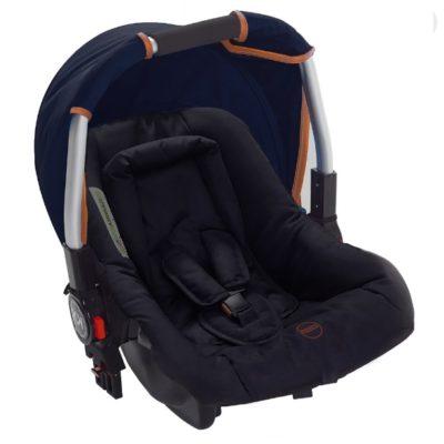 Kids Kargo Safety Pod 0+ Car Seat - Navy Tan