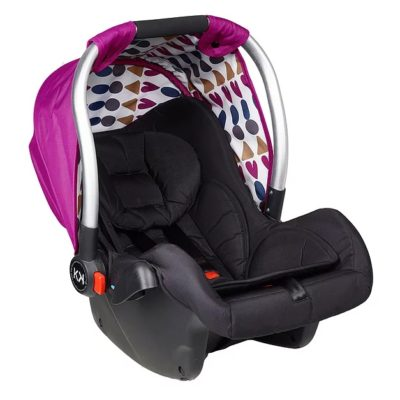 Kids Kargo Safety Pod 0+ Car Seat - Raspberry