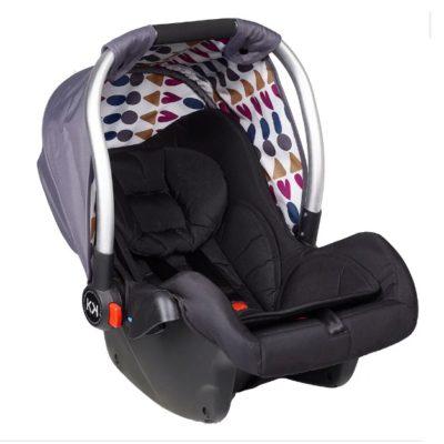 Kids Kargo Safety Pod 0+ Car Seat - Silver