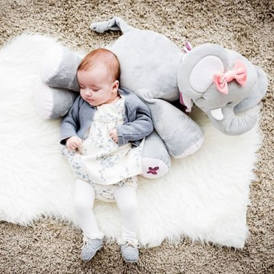 Nattou Large Cuddle Toy - Adele the Elephant