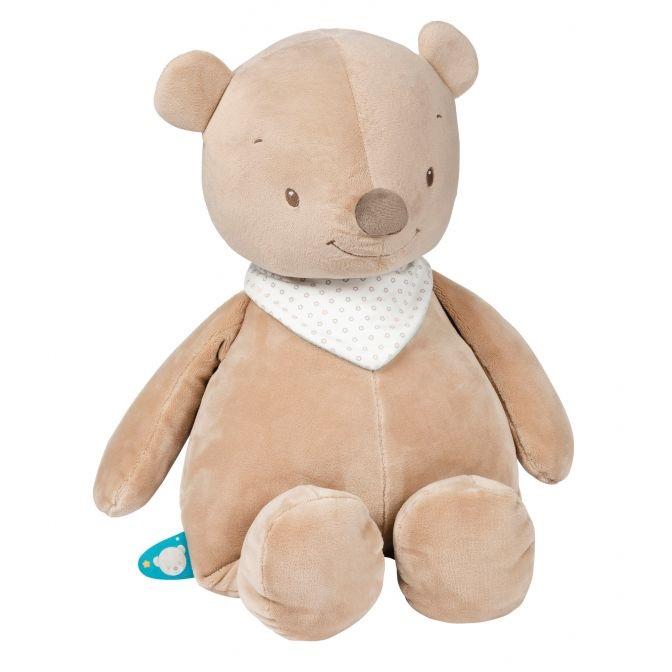 Nattou Large Cuddle Toy Basile the Bear