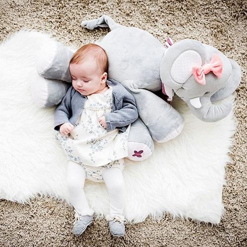 Nattou Large Cuddle Toy - Adele the Elephant