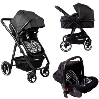 Red Kite Savanna Travel System - Black