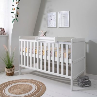 Tutti Bambini Rio Cot Bed, Changer and Mattress -