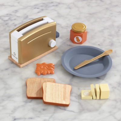 KidKraft Modern Metallics Toaster Set