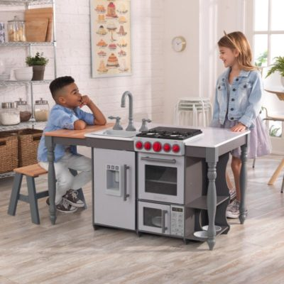 Kidkraft Chef's Cook N Create Island Play Kitchen